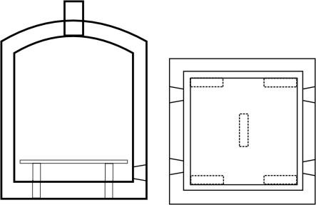 Dise o de hornos for Medidas de hornos pequenos